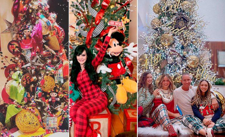 Arbolitos de Navidad de los famosos