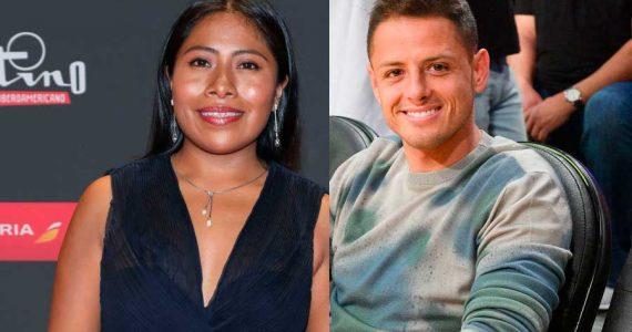 Yalitza Aparicio y Chicharito Hernández