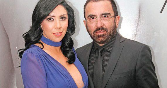Vicente Fernández Jr. y Karina Ortegón