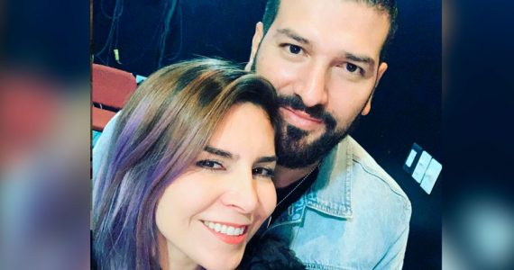 Karla Panini y Américo Garza