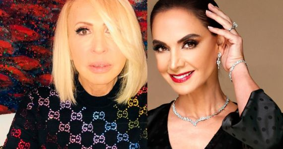 Laura Bozzo y Lupita Jones