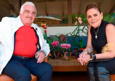 Mara Patricia Castañeda y Vicente Fernández