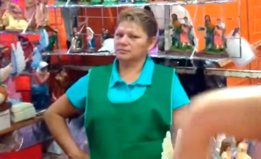 Doña Tere apareció en el video viral del Pasito perrón
