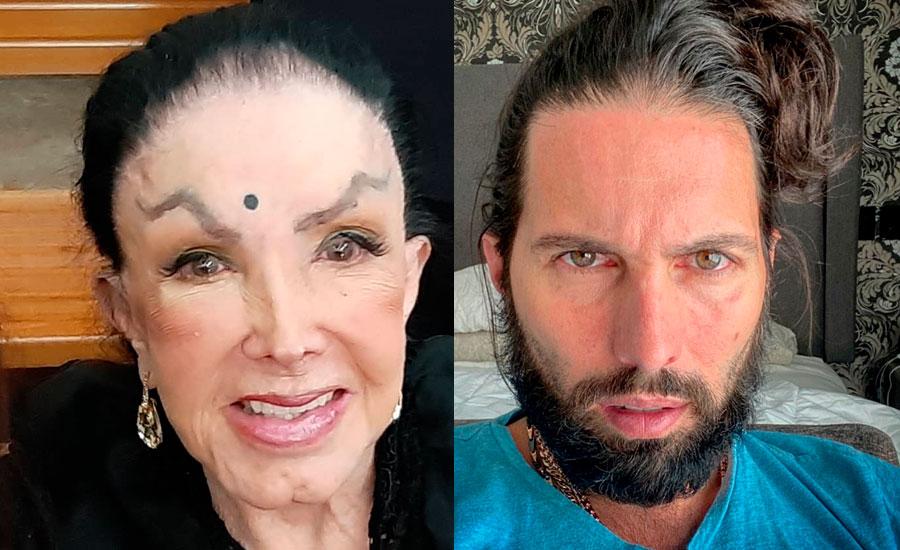 Poncho de Nigris e Irma Serrano 'La Tigresa'