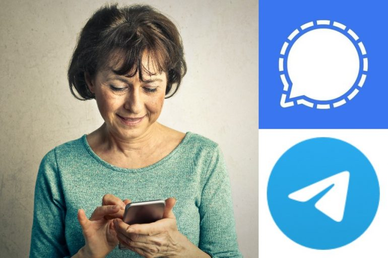 telegram signal que es grupos chat secreto version web desktop