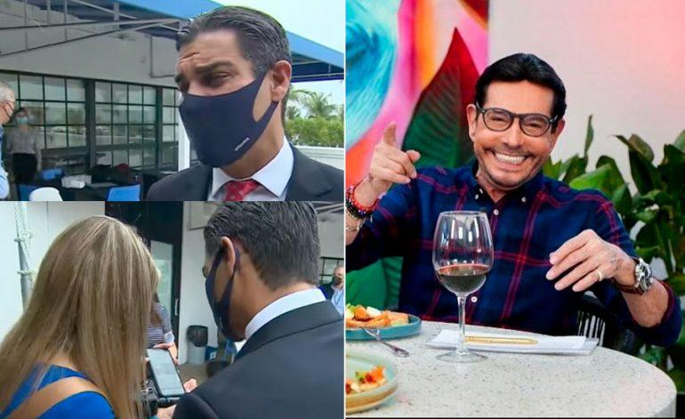 Juan José Origel se vacunó en Miami
