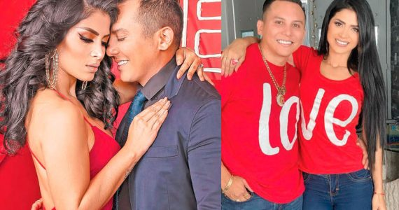 Edwin Luna y Kimberly Flores