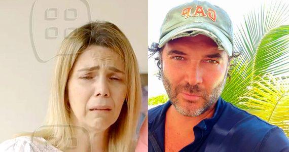 Gaby Crassus y Rodrigo Mejía