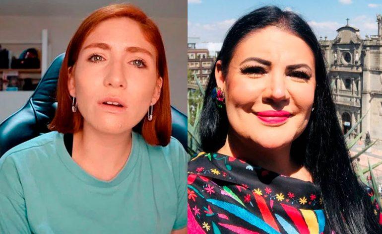 Nath Campos y Alejandra Ávalos