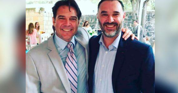 Salvador y Rodrigo Mejía