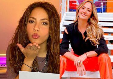Shakira y Andrea Legarreta