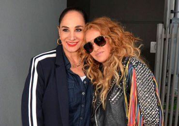 Susana Dosamantes y Paulina Rubio