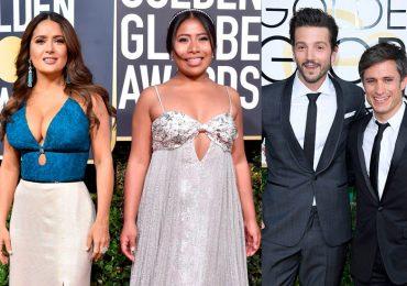 Yalitza y mexicanos en Golden Globes
