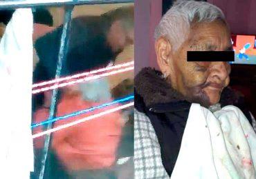 Abuelita maltratada en Tlalpan