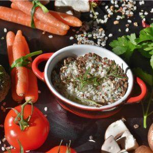 Alimentos saludables y dieta balanceada