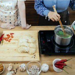 Cocinas comida saludable