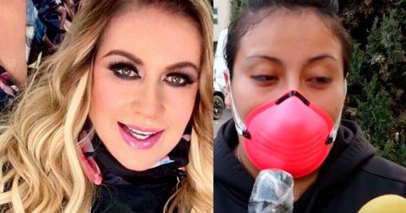 Laura Zapata vs enfermera