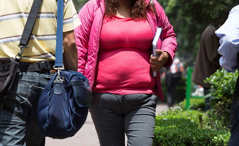 Mexicanos con sobrepeso