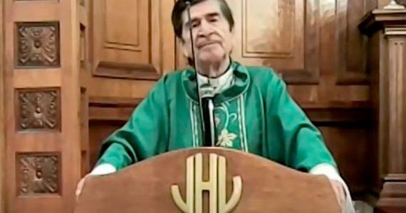 Obispo rechaza el cubrebocas