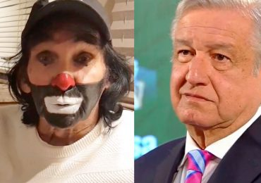 Cepillín y Andrés Manuel López Obrador