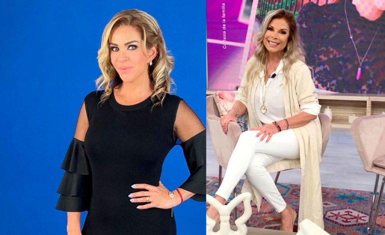 Rocío Sánchez Azuara y Mimí