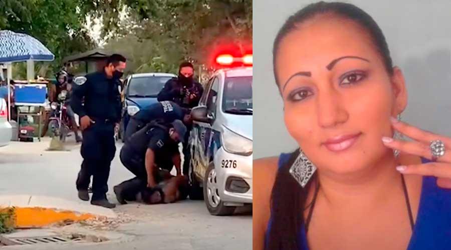 Indigna el caso de Victoria Salazar, brutalmente asesinada por policías en Tulum
