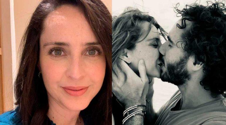 Irán Castillo está enamorada