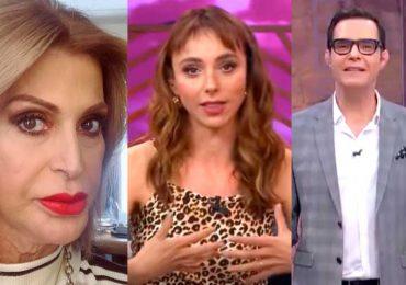 Alejandra Bogue, Natalia Téllez y Horacio Villalobos
