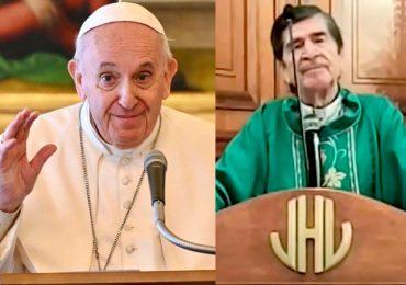 papa Francisco y Obispo de Tamaulipas