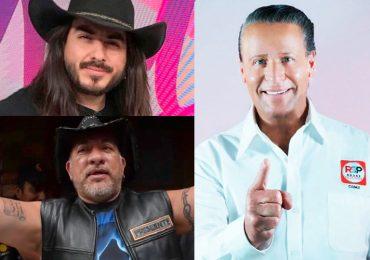 Alfredo Adame, Carlos Trejo y Rey Grupero