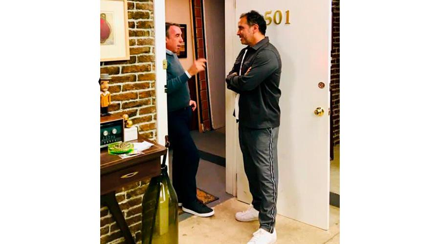 Gustavo Loza y Emilio Azcárraga Jean