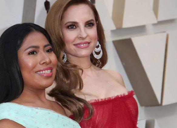 Yalitza Aparicio y Marina de Tavira