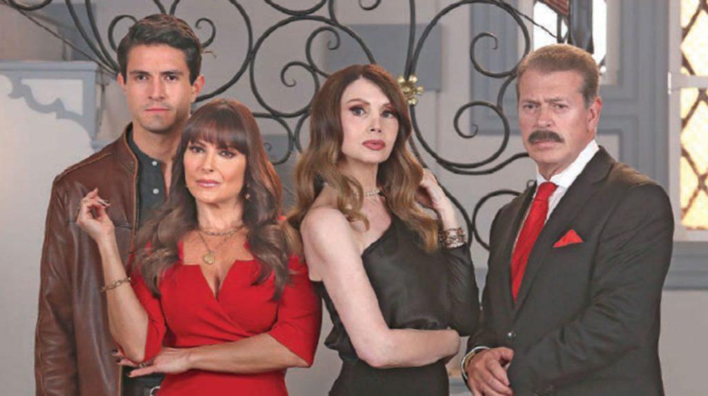 Frances Ondiviela y Sergio Goyri vuelven a los melodramas de Televisa dando vida a unos malvados personajes.