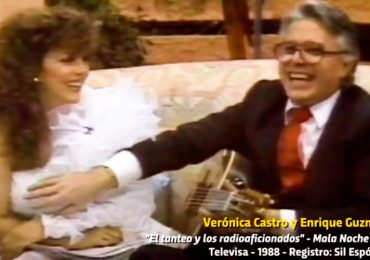 Enrique Guzmán y Verónica Castro