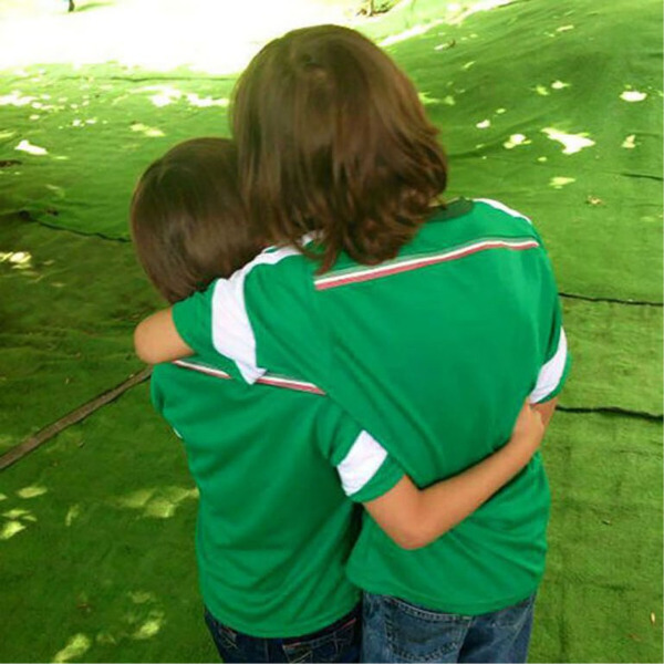 Miguel y Daniel: hijos de Aracely Arámbula y Luis Miguel