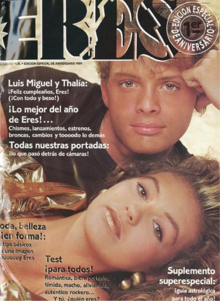 Luis Miguel y Thalia en Eres