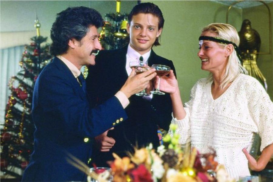 Marcela Basteri, Luis Miguel y Luisito Rey