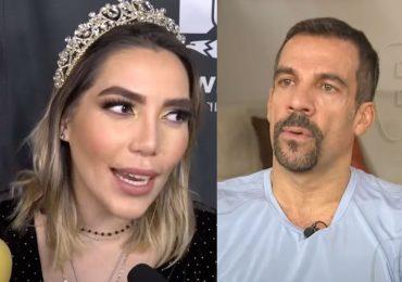 Frida Sofía es respaldada por su tío