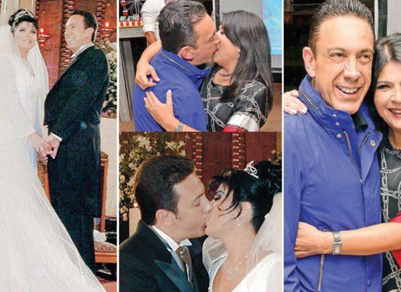 Victoria Ruffo y Omar Fayad