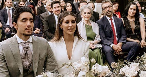Alex Fernández se casó por el civil