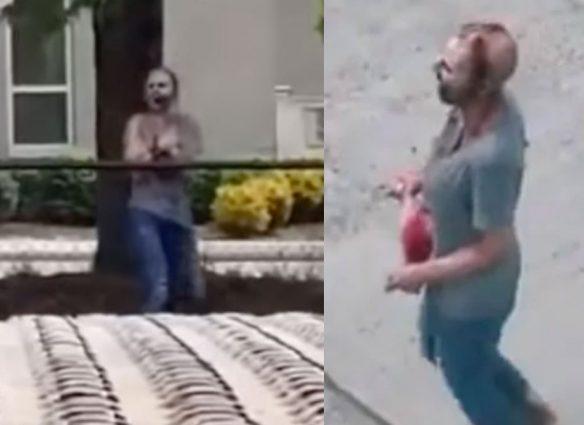 Mujer zombie desconcierta a Seattle