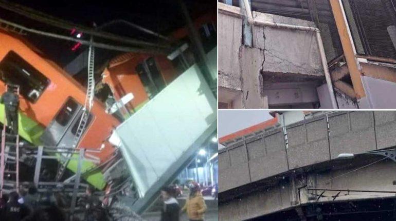 Advierten de otros puentes del Metro