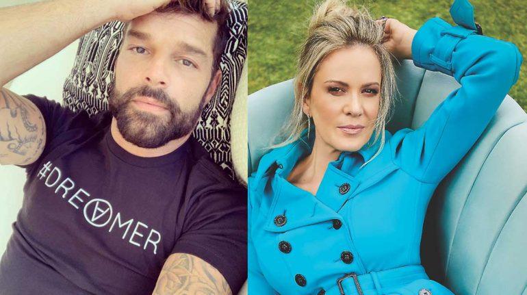 Rebecca de Alba y Ricky Martin