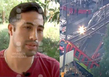 Rodrigo, conductor del Metro