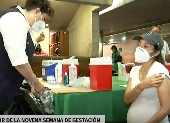 Vacunación a mujeres embarazadas