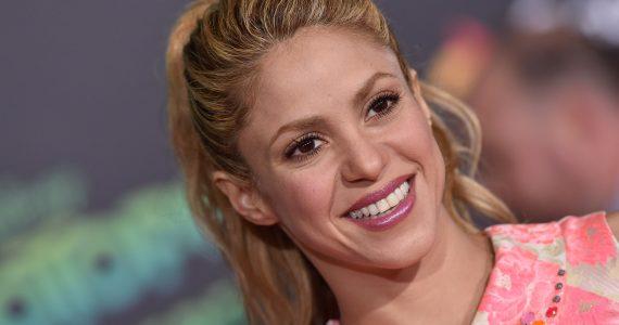 Sorprende Shakira bailando ¡sin ropa interior!