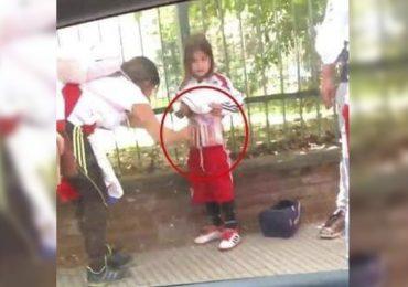 Detienen a mujer que usó a menor para ingresar bengalas al Monumental