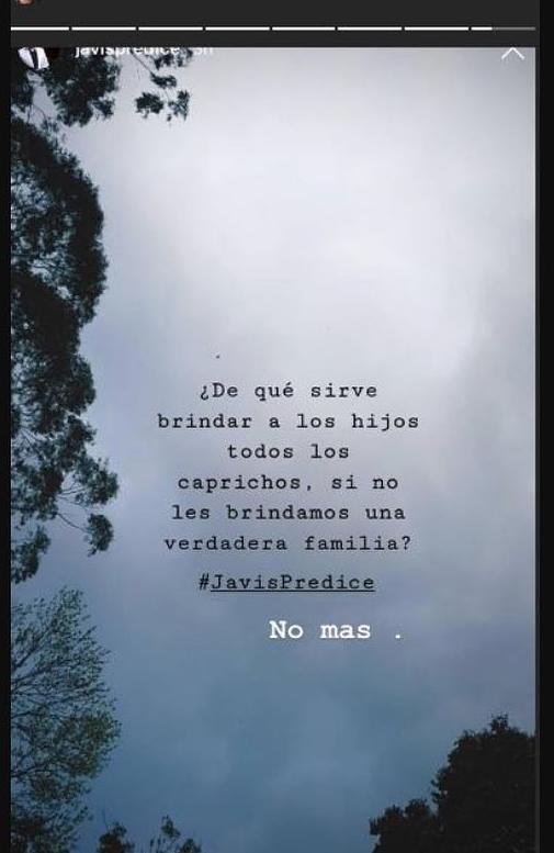 Exesposa de James Rodríguez la manda indirecta por 'mal padre'