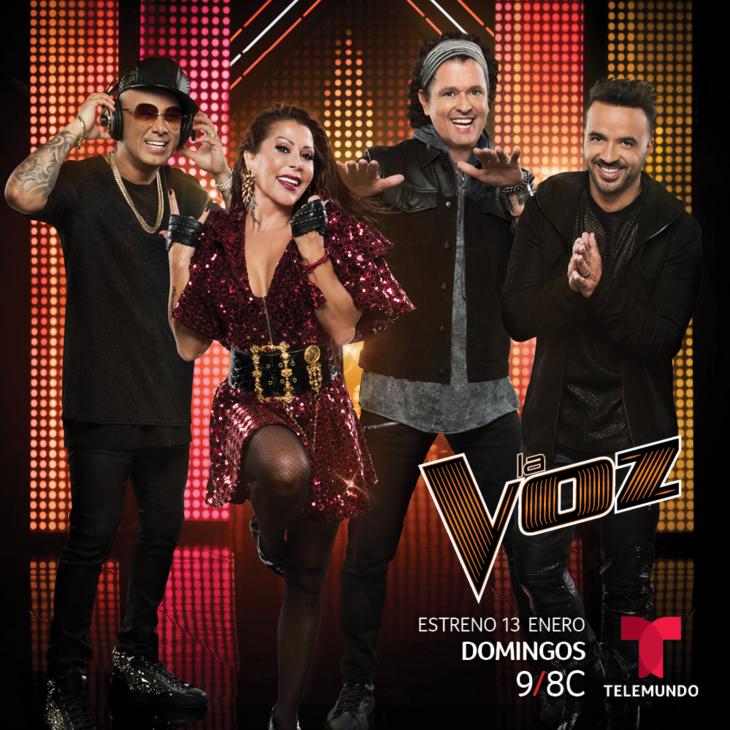 La Voz estrena primera edición en español
