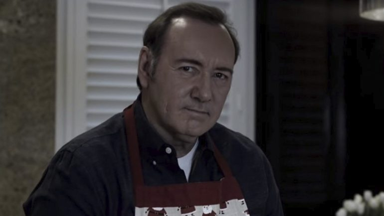 Kevin Spacey difunde extraño video